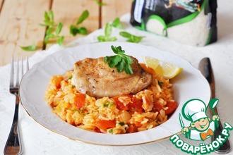 Рецепт: Рис джоллоф с курицей