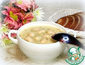 The soup is thick, fragrant and very tasty!  On the table with the soup, you can file any bread.  I have very delicious bread with the addition of Tallinn  cumin. When I go on vacation, always take it  for relatives.