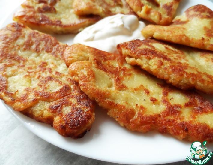 Рецепт: Картофельные сконы за 20 минут