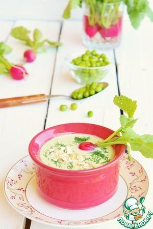 Суп получается очень лёгким, прекрасно подойдет для низкокалорийного обеда или ужина.