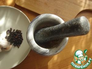 To Zira revealed its flavor, split it in a mortar.