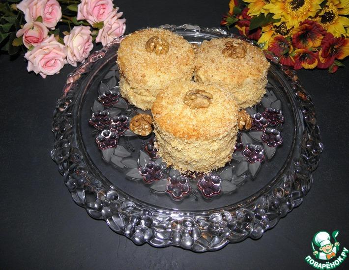 Рецепт: Пирожные Нежное удовольствие