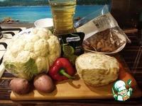 Суп с фасолью и цветной капустой ингредиенты