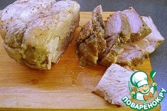 Рецепт: Буженина из свиной шейки