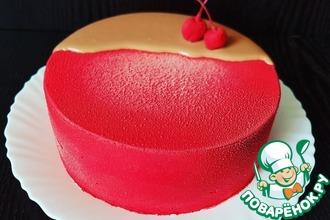 Рецепт: Торт Кофейная вишня
