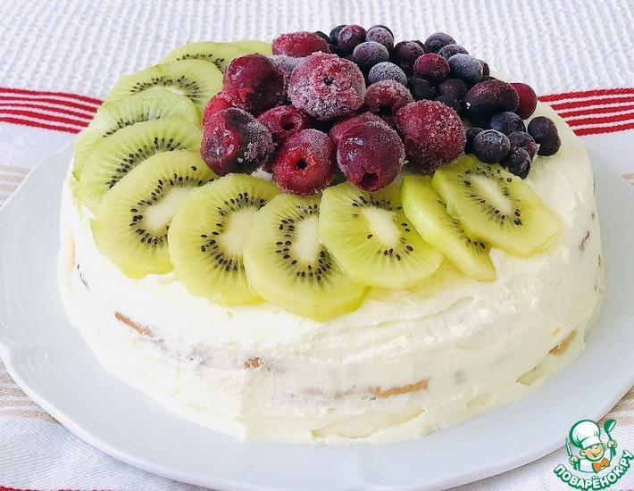 Рецепт: Торт С Днём Рождения, Анечка!