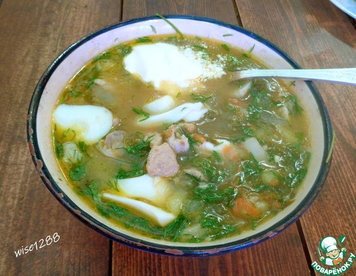 Рецепт: Суп с ревенем