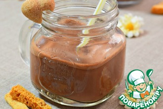 Рецепт: Шоколадное овсяное молоко