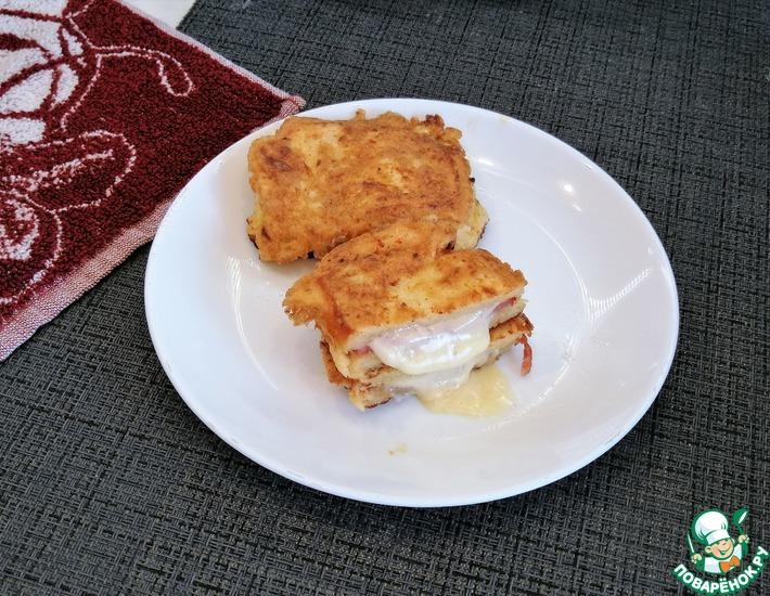 Рецепт: Горячие бутерброды