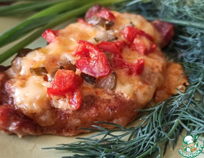 Рецепт: Праздничные отбивные из свинины