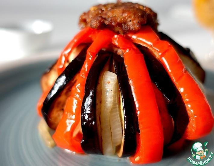 Рецепт: Кето баклажаны в духовке