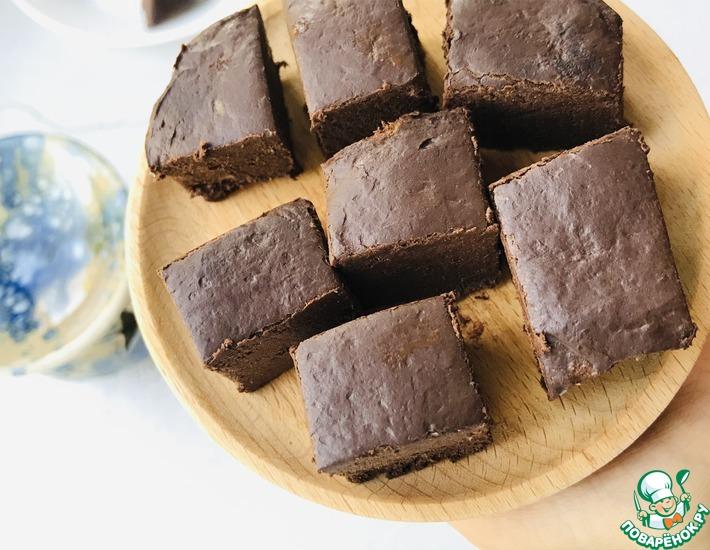 Рецепт: Десерт без муки и сахара