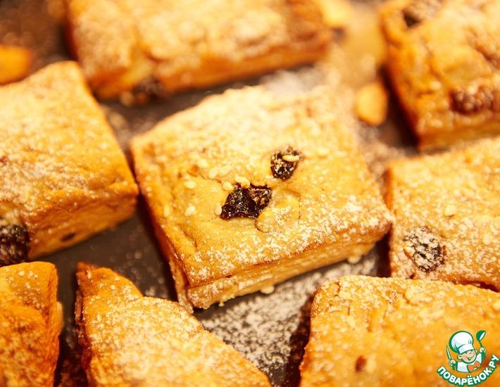 Рецепт: Ореховое печенье с изюмом